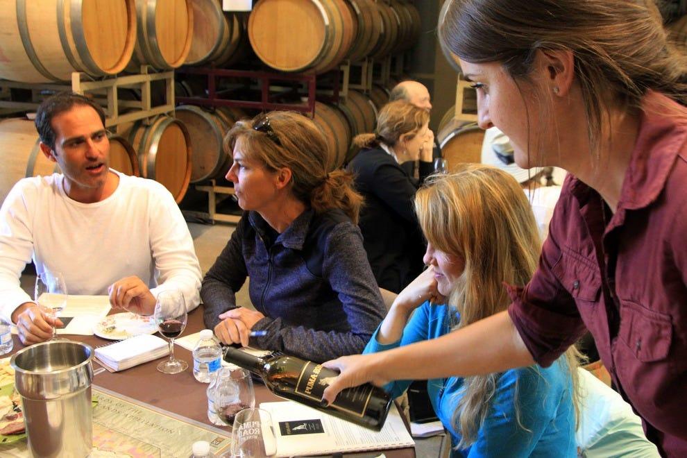 Wine-tasting, Puma Road Winery