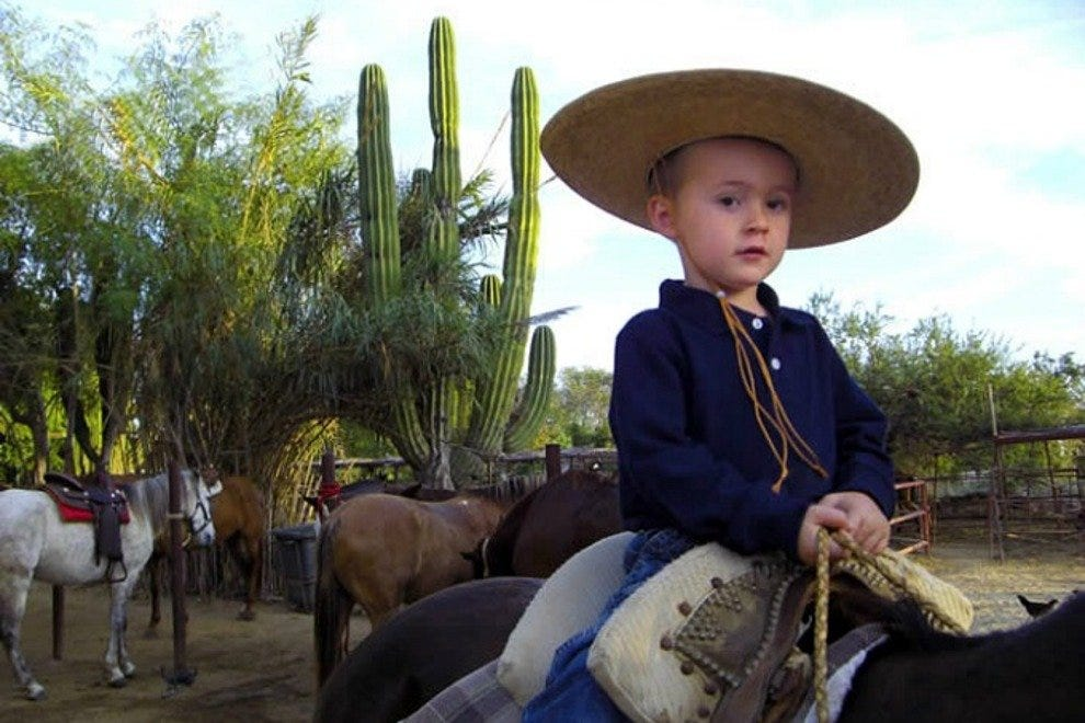 Cuadra San Francisco offers riding lessons for kids ages six and older