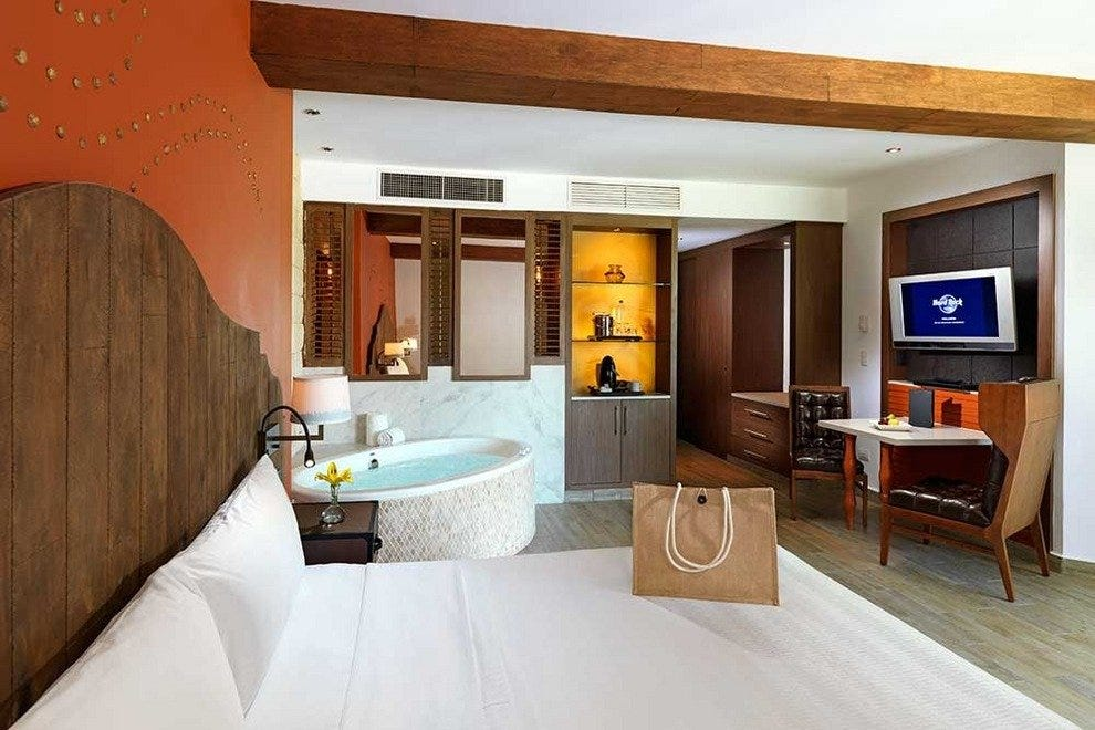 All rooms feature luxury amenities