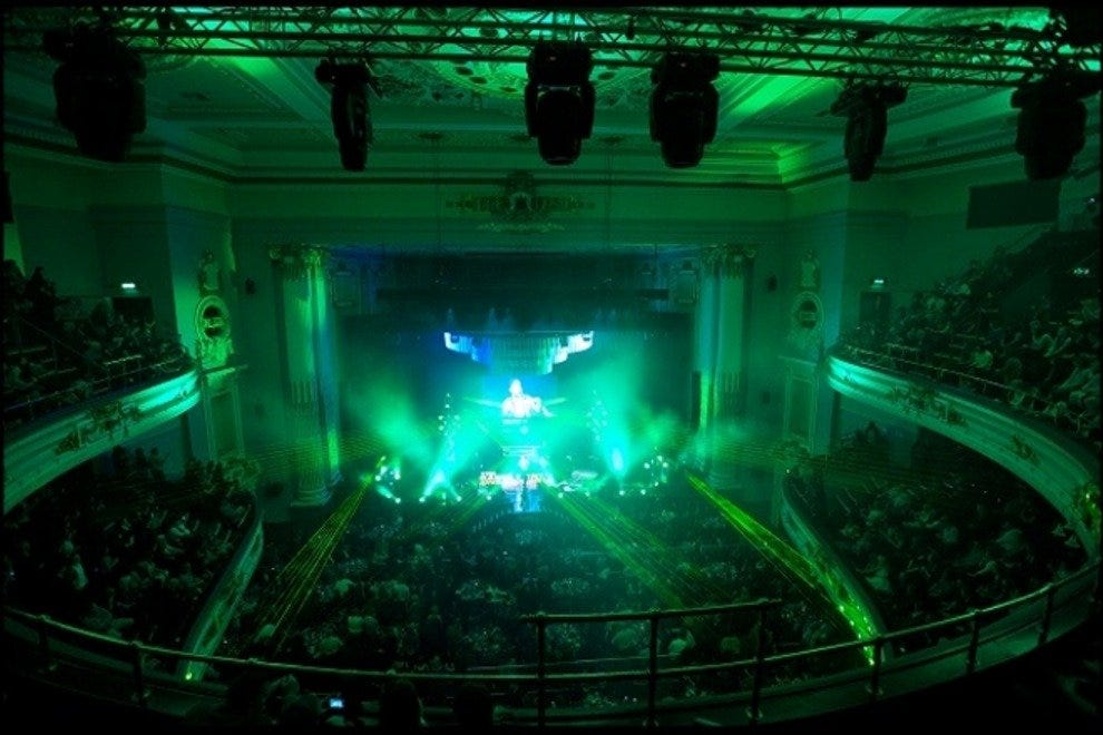 Inside Usher Hall