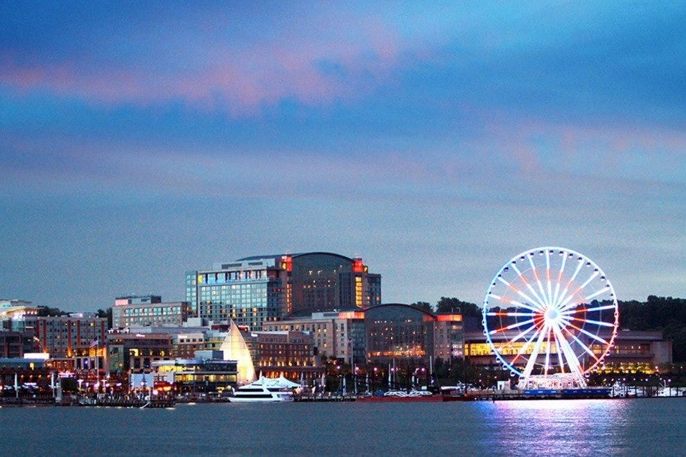 Stunning National Harbor is the site of this year's festival