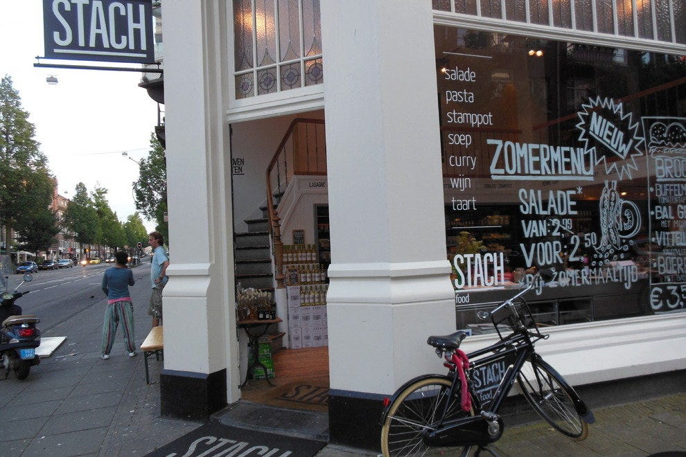 One of Amsterdam's Stach Food stores