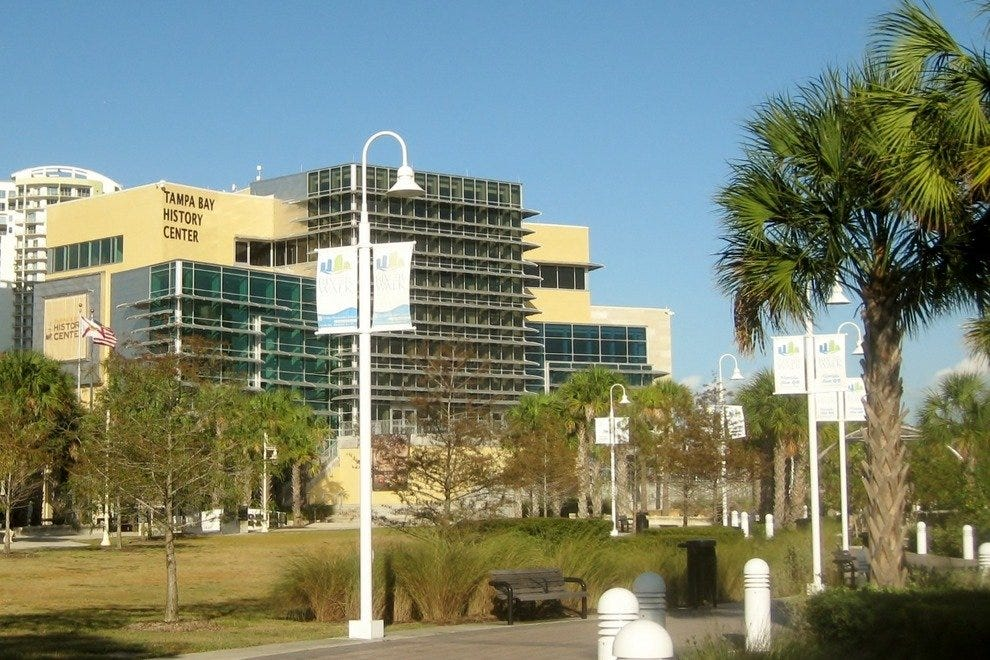 Tampa Bay History Center is an interesting and engaging way to learn about Tampa's past