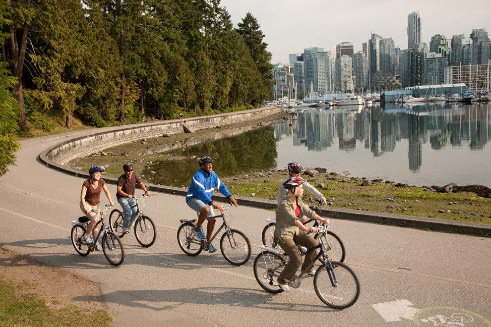 Vancouver's stunning Seawall