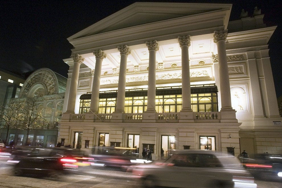 The Royal Opera House invites the public to tour its backstage.