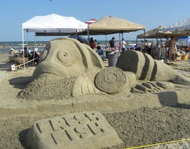 10Best: 2014 Sand Sculpture Competitions