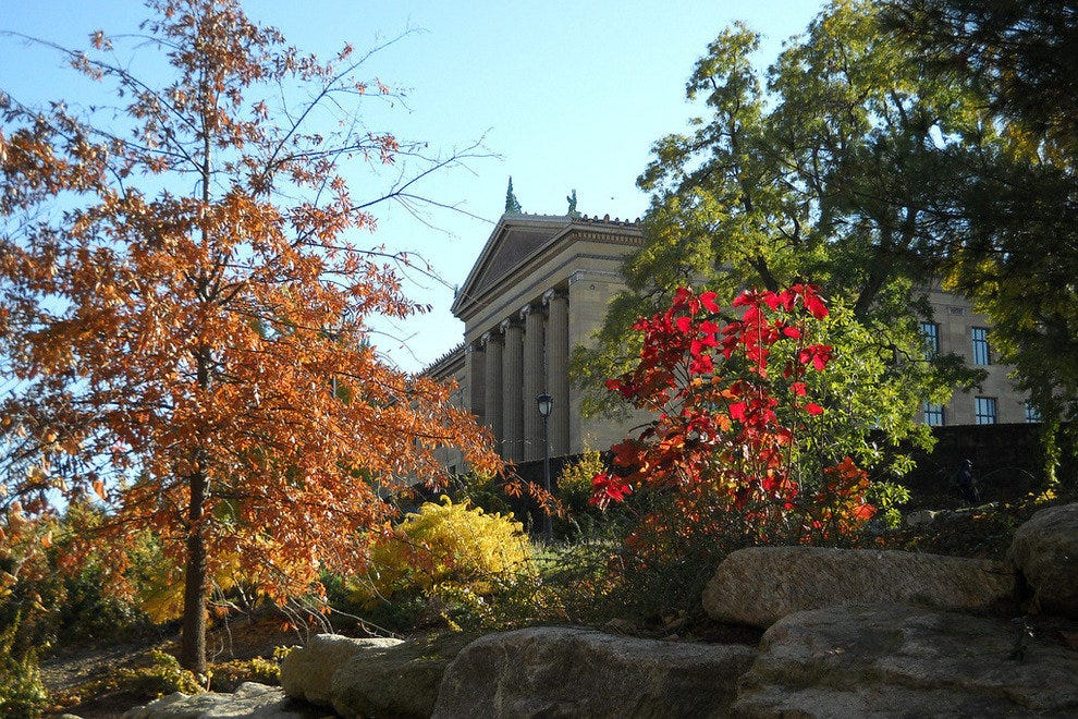 End your bike ride with a visit to the Philadelphia Museum of Art