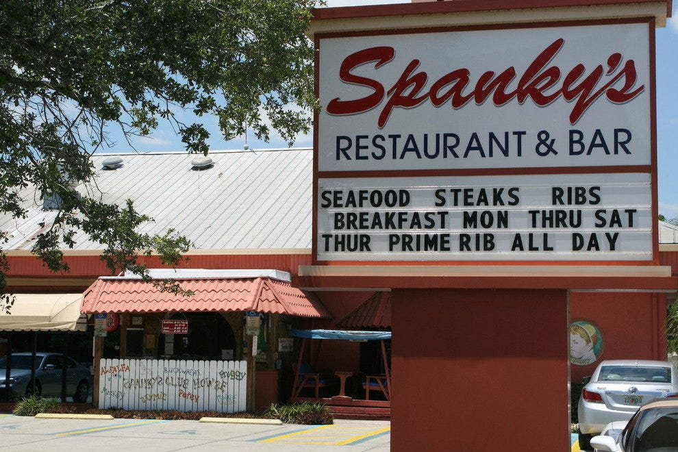 Spanky S Restaurant Naples Florida