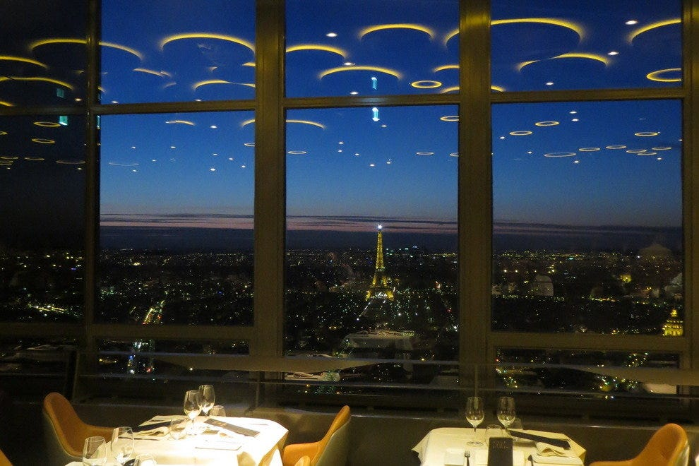 Ciel de paris bar a champagne paris nightlife review 10best experts and to - La tour montparnasse restaurant ...