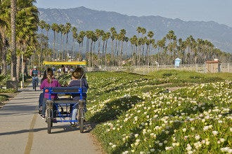 Coast Along the Coast: A Half-Day Ride in Santa Barbara
