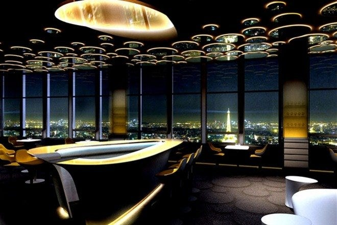 Ciel de Paris Bar a Champagne