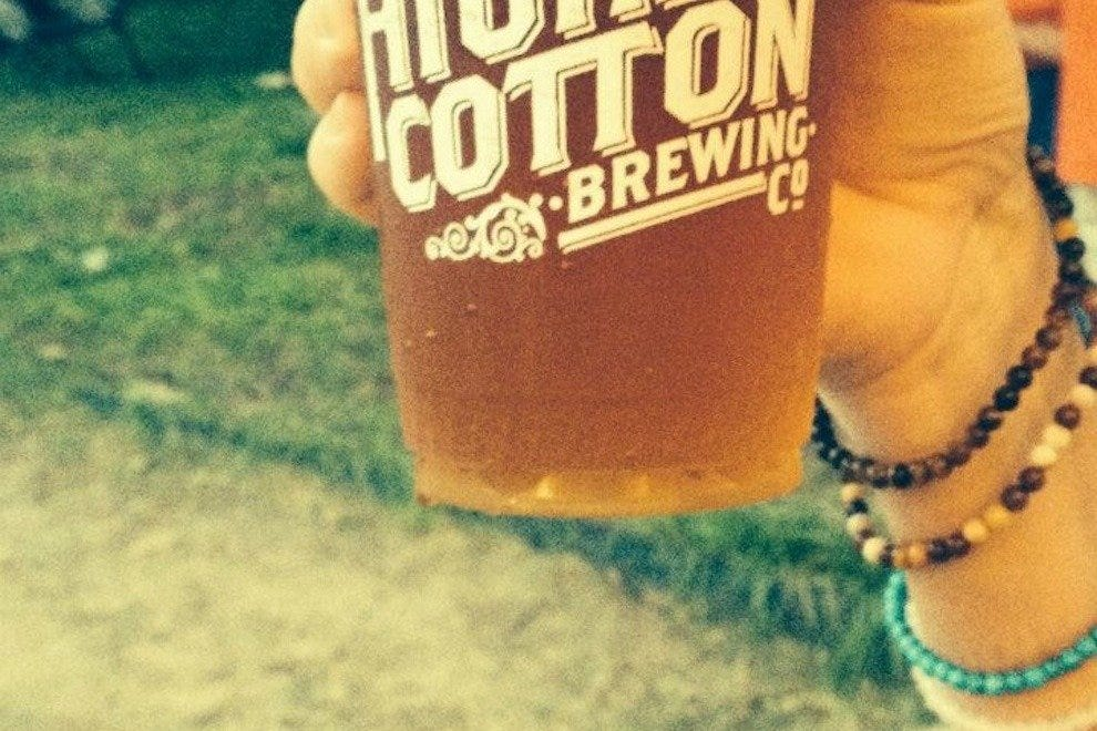 High Cotton - a local craft brewery - was on tap for the 2014 kick-off event
