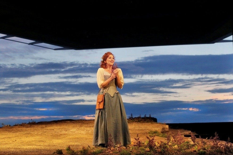 "Joyce DiDonato plays Elena in  ""La Donna del Lago """