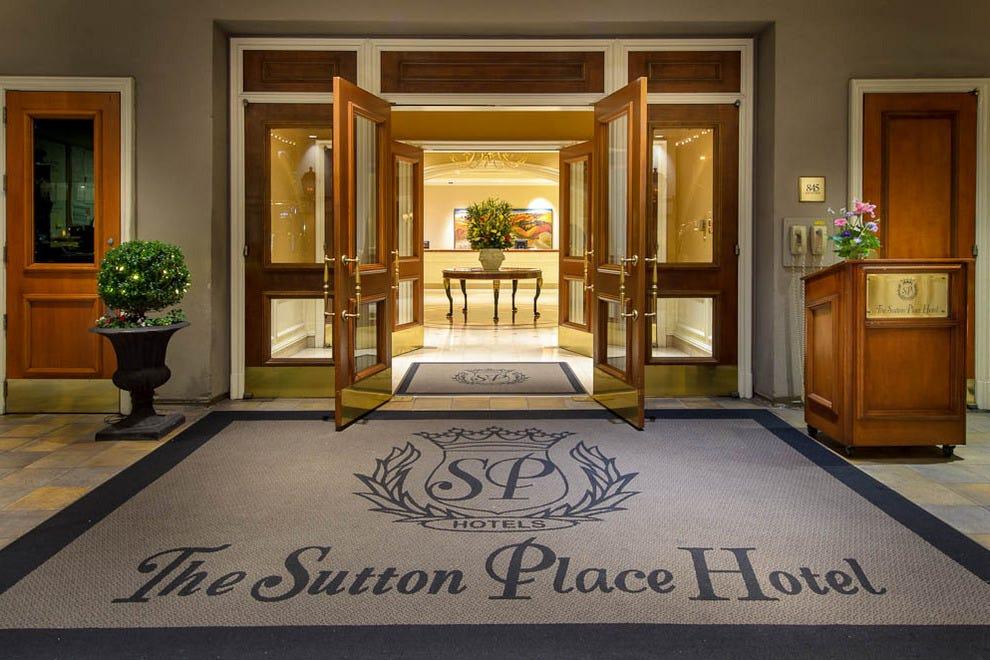 hotels sutton place hotel vancouver