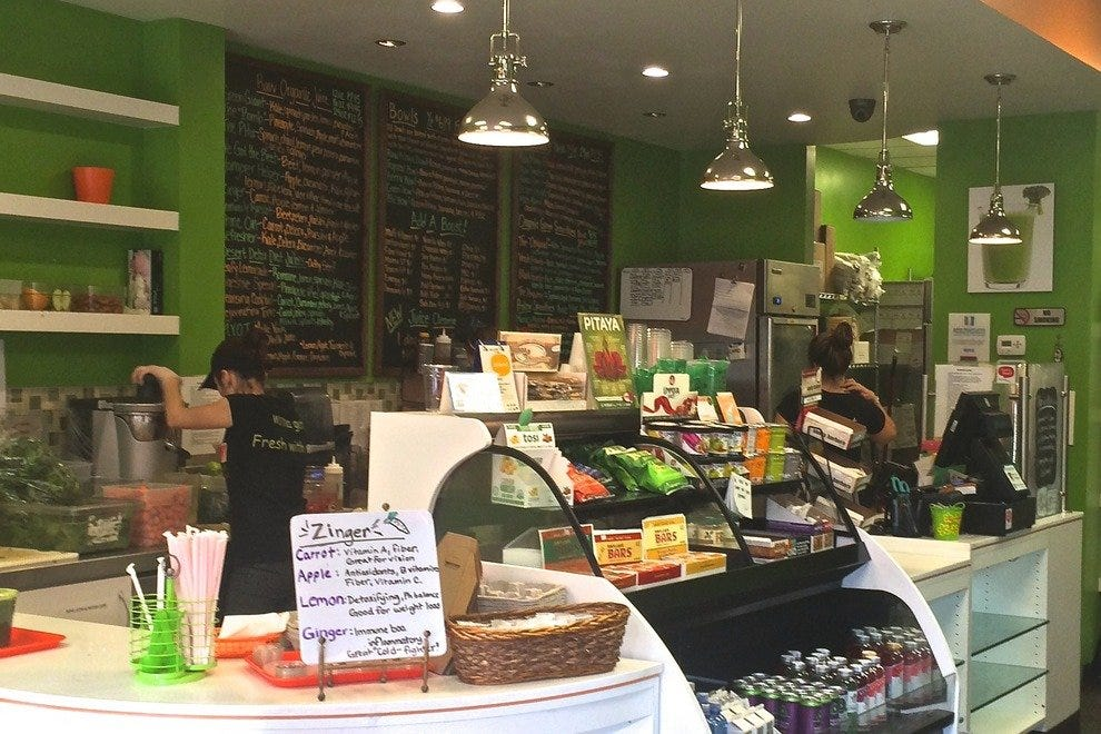 Mixing it up in Palm Desert's best juice bar