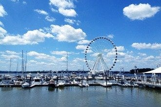 The New Capital Wheel Soars over National Harbor