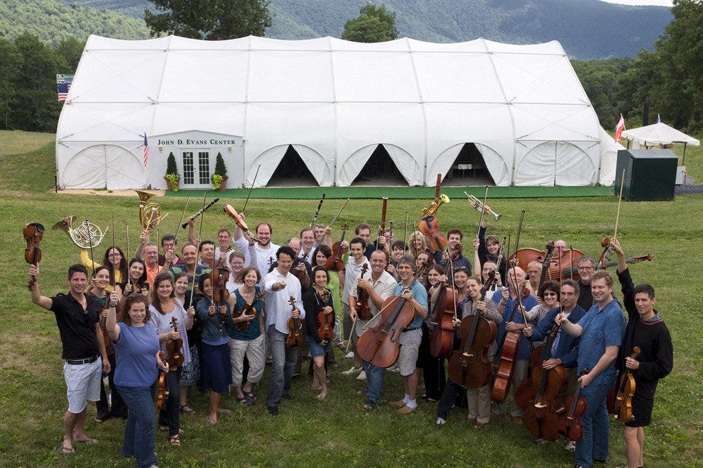 The hills are alive with music and other entertainment during Wintergreen Summer Music Festival