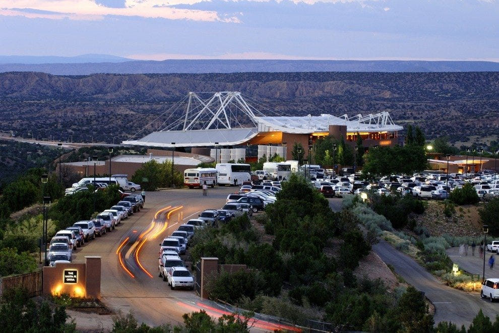 Arias with mountain views bring curtain calls at the Santa Fe Opera