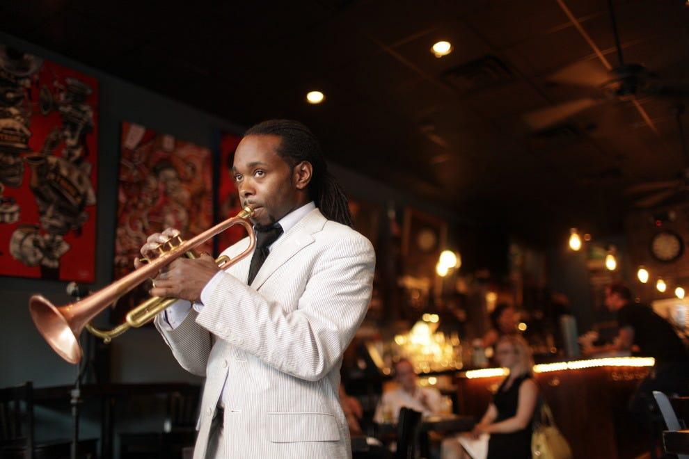Orleans Restaurant & Jazz Lounge, Newmarket - menupix.com