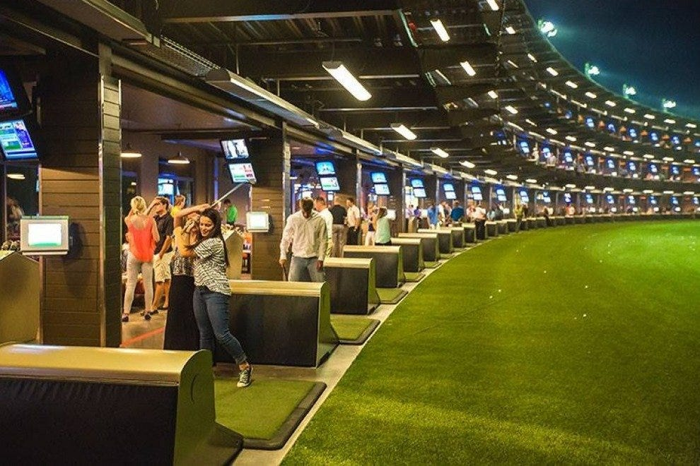TopGolf is a new golf and entertainment complex in Scottsdale