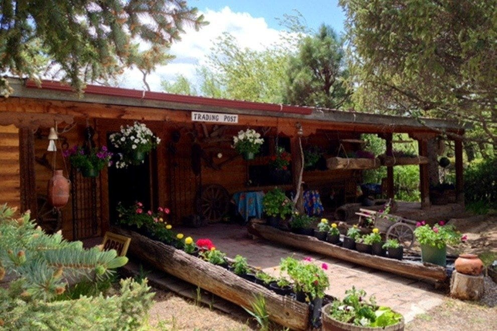 Nambe Trading Post Western Themed Arts And Crafts In