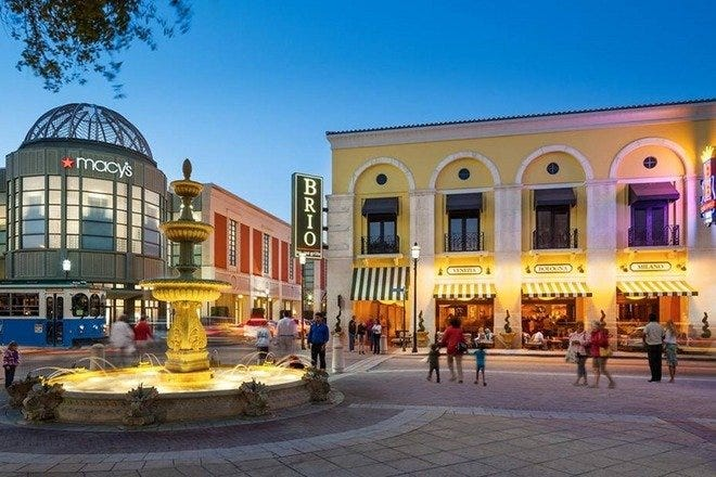 Christmas Shopping in Palm Beach / West Palm Beach