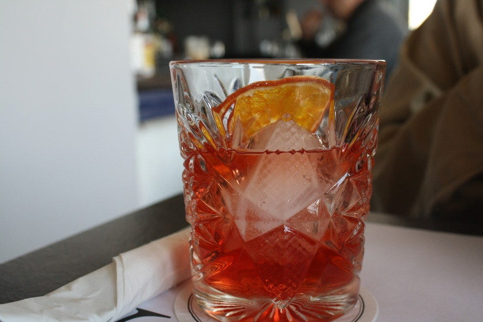 Negroni at A for Athens