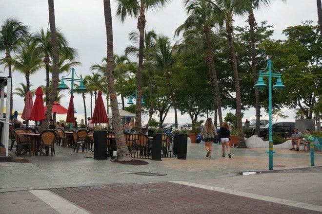 Fort Myers Beach Sunset Celebration