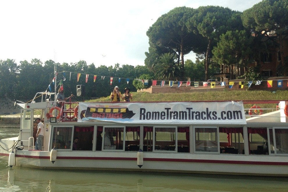 RomeTracks rocks the river!