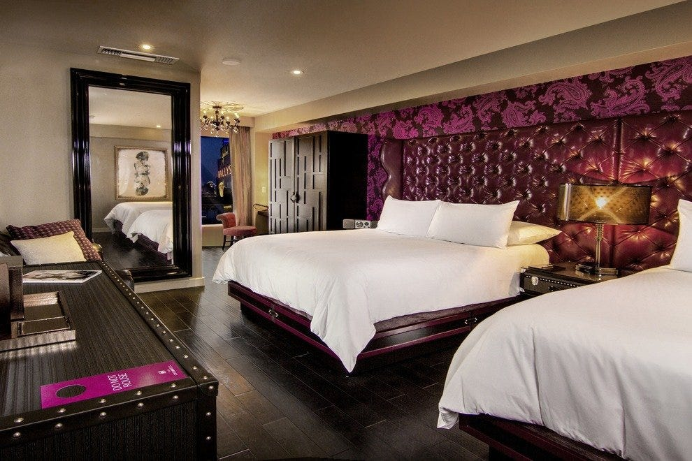 A two-bedroom guestroom at The Cromwell