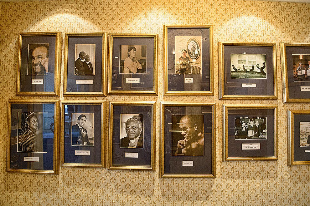 photos of Nobel Peace Prize Winners who have graced the Grand