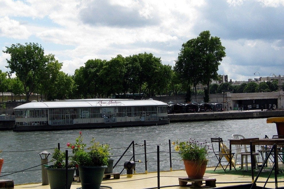 New Paris nightlife includes Rosa Bonheur sur Seine