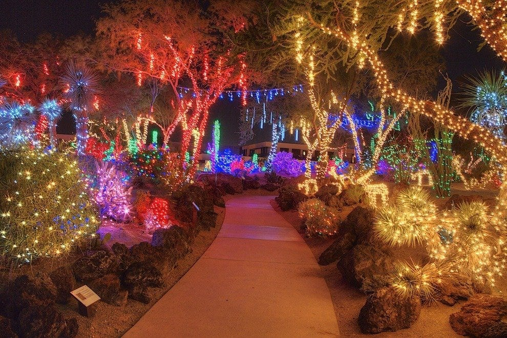 Ethel M Chocolates Holiday Cactus Garden Las Vegas Attractions Review 10best Experts And