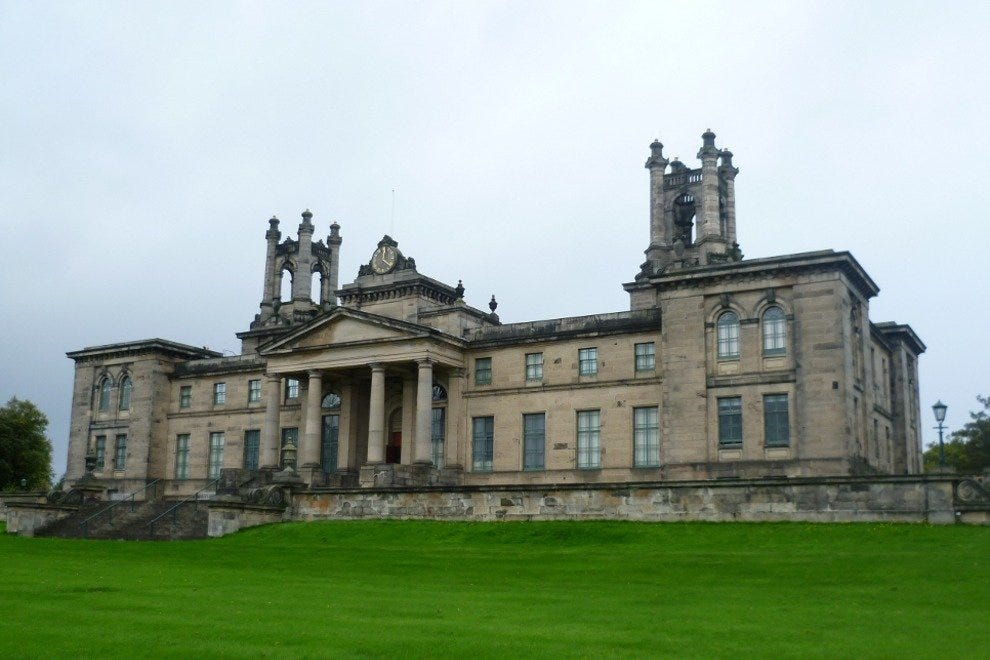 Former Dean Orphanage, now part of Scotland's National Gallery of Modern Art