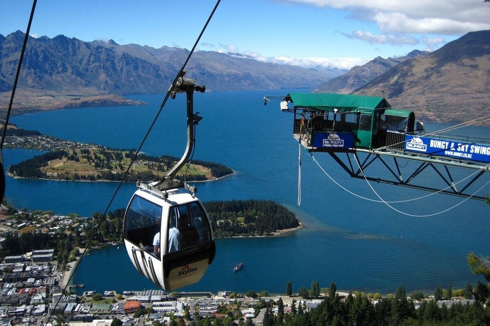 Skyline Gondola - Queenstown, New Zealand