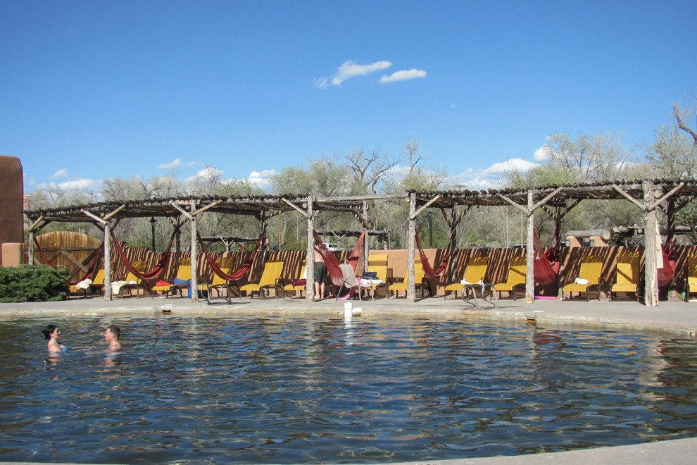 Pool at Ojo Caliente Mineral Springs Resort & Spa