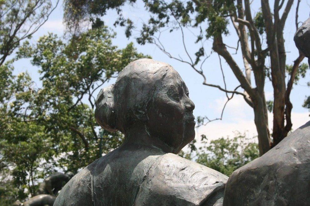 弗朗西斯科·祖尼加在艺术博物馆的雕塑作品