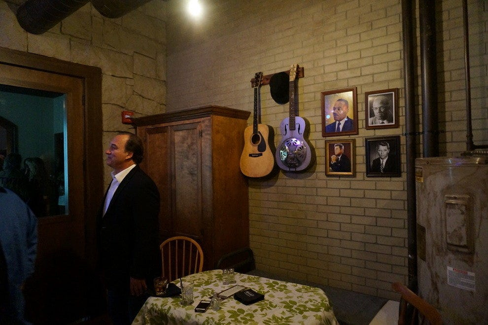 """The Basement"" has unique memorabilia and replicas of items in historic Belushi movie sets"