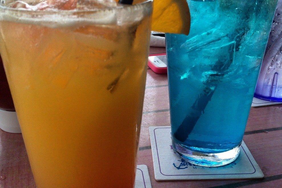 鳄鱼尾和麦芽酒