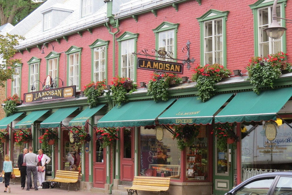 Grocery store J.A. Moisan in Quebec City