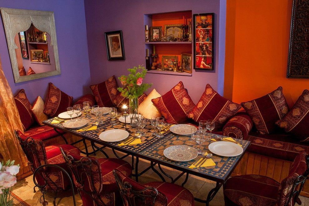 Flor da laranja an authentic moroccan restaurant in for Authentic moroccan cuisine