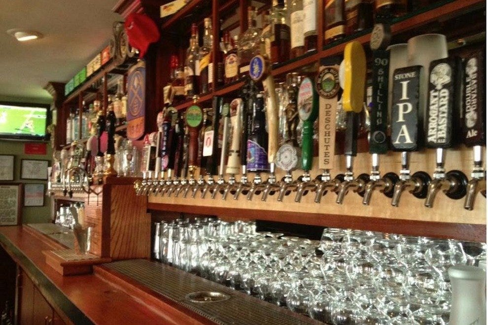 Beers on tap at Backcountry Pizza and Tap House