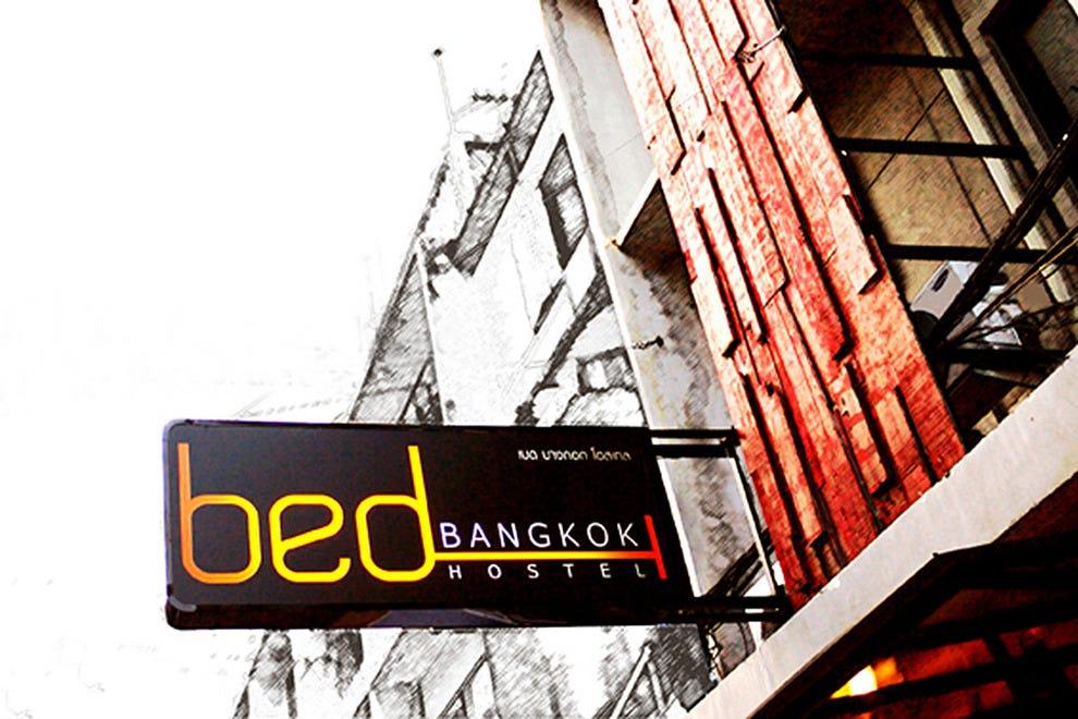 床上曼谷旅馆