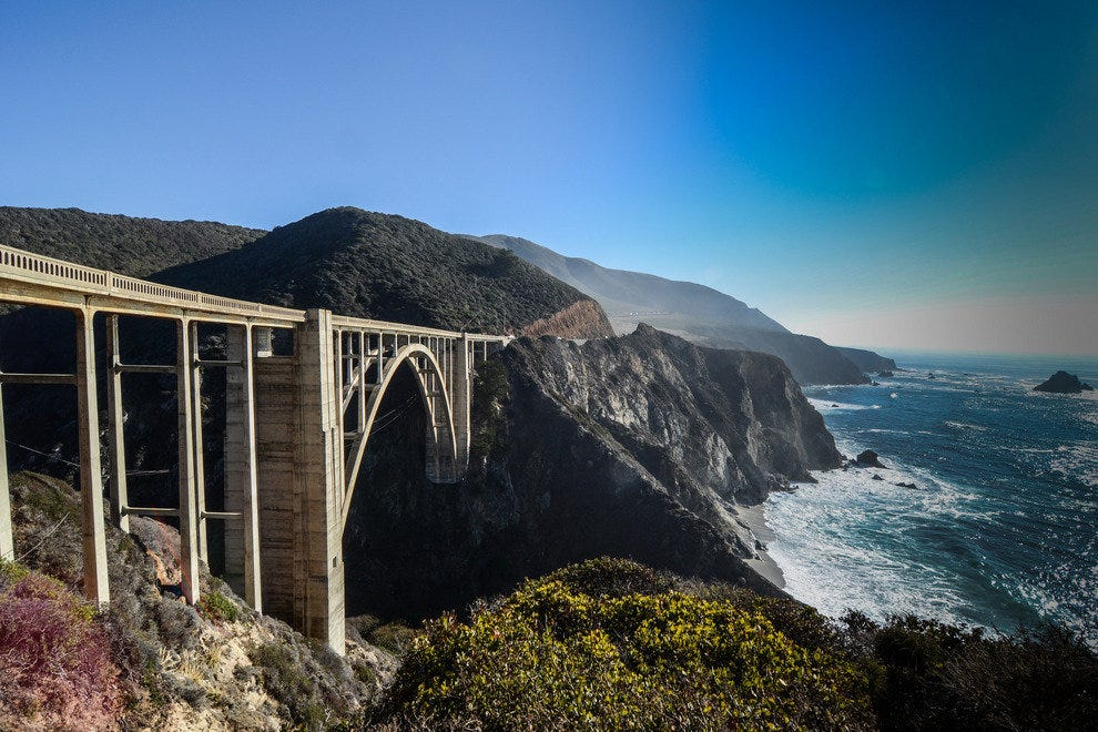 Bixby Creek Bridge, Big Sur, Calif.
