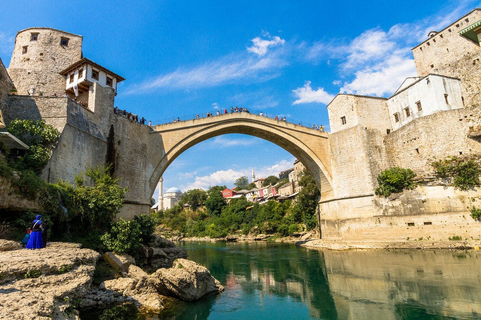 Stari Most, Mostar, Bosnia and Herzegovina