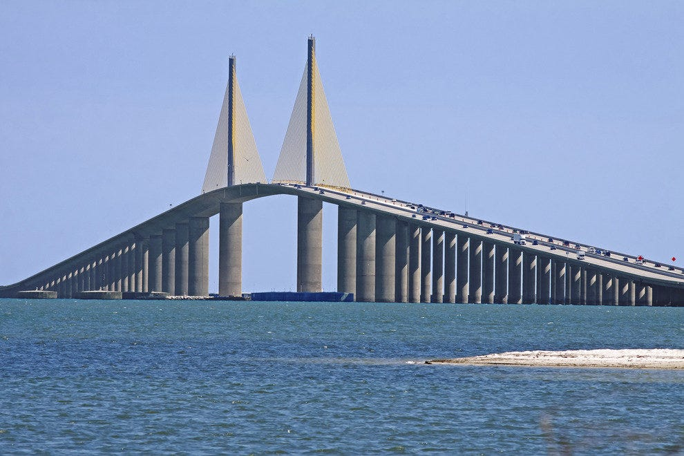 Sunshine Skyway Bridge, Tampa Bay, Fla.