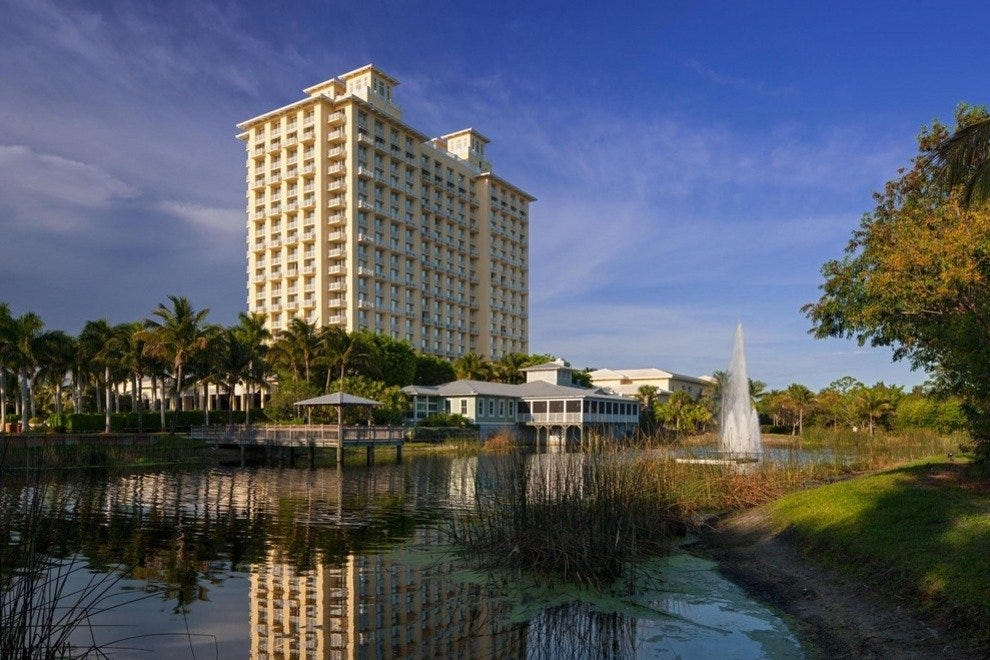 The Hyatt Regency Coconut Point, a tower of elegance