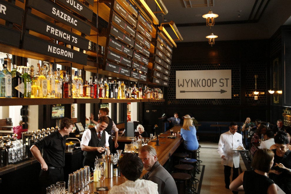 Only open since July 2014, Terminal Bar is already a crowd-pleaser
