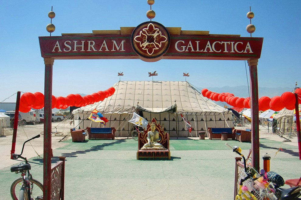 The Grand Hotel at the Ashram Galactica