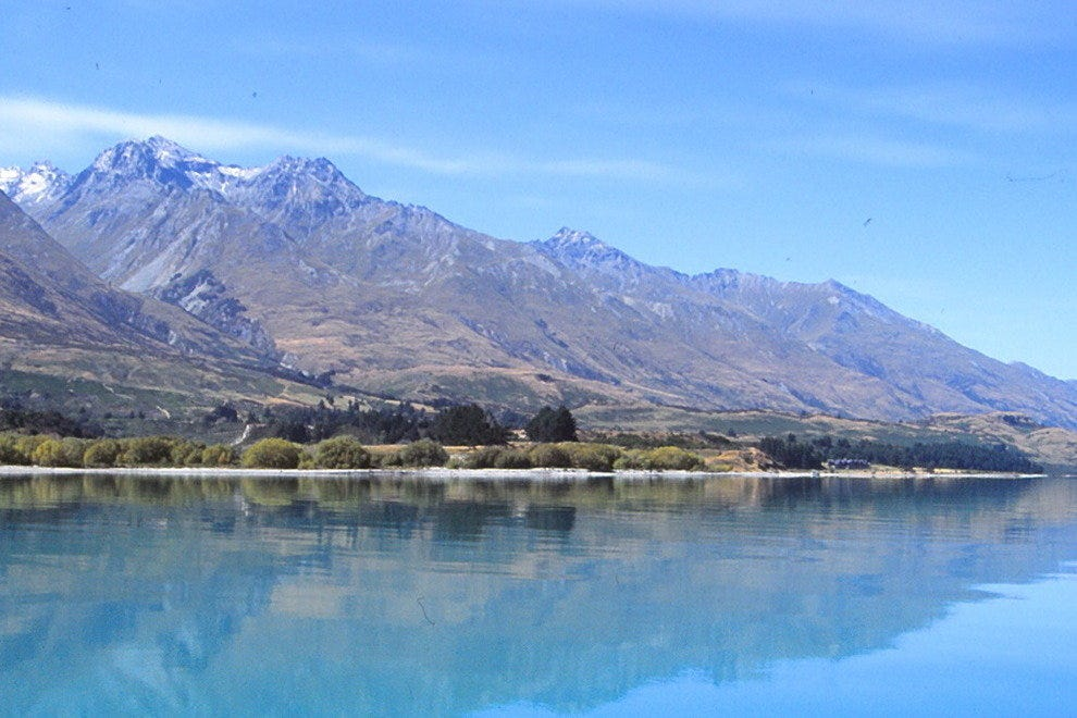 The improbable blue of many New Zealand lakes can make you doubt your eyesight.